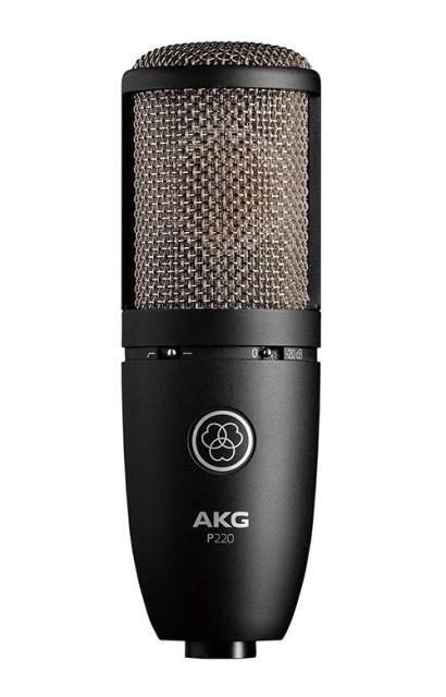 AKGP220【Project Studio Line】【サイドアドレス型マイクロホン】【送料無料】