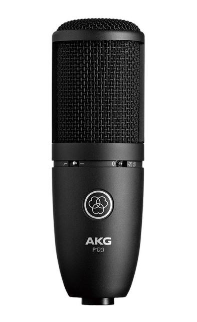 AKGP120【Project Studio Line】【サイドアドレス型マイクロホン】【送料無料】