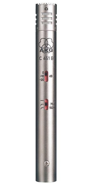 AKGC451 B【スティック型マイクロホン】【送料無料】