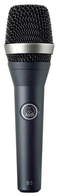 AKGD5【国内正規品/2年保証】【ハンドヘルド型マイクロホン】【送料無料】