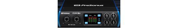 PreSonus Studio 26c【オーディオインターフェイス】【送料無料】