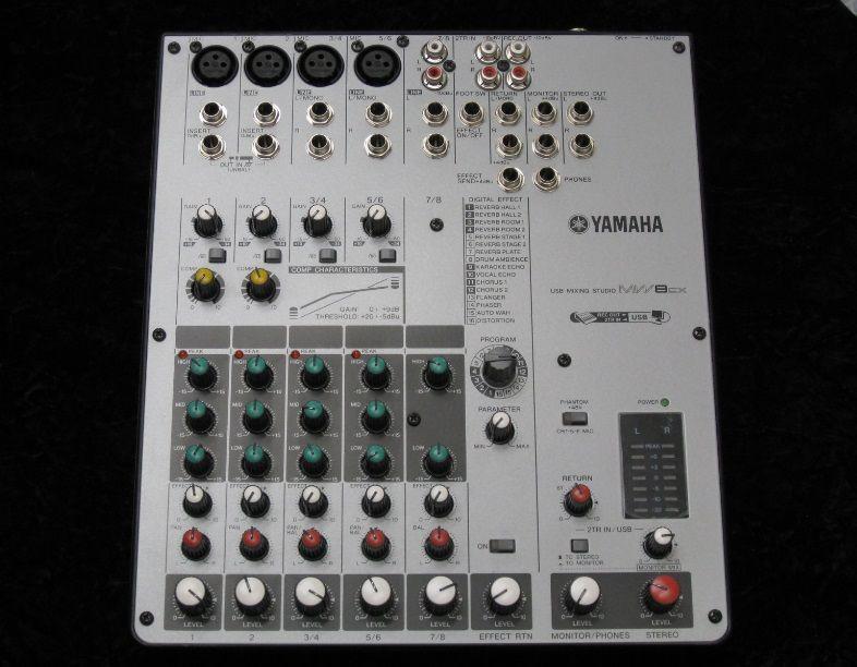 YAMAHAMW8CX 【USED】【中古】【ヤマハ】【ミキサー型USBオーディオインターフェイス】【8Ch】【送料無料】