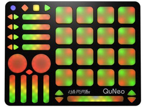 Keith Mcmillen Qu Neo【MIDIコントローラ】【フィジカルコントローラ】【3Dマルチタッチパッドコントローラ】【送料無料】