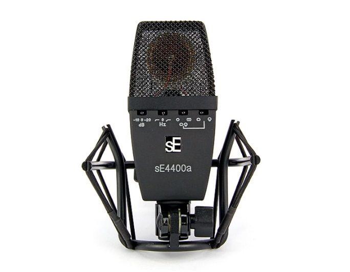 sE Electronics sE4400a 【ラージダイアフラムFETコンデンサーマイク】【専用サスペンション、フライトケース付属】【送料無料】