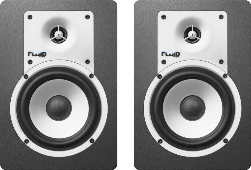 Fluid Audio フルイドオーディオ C5 ブラック【ペア】【5インチ】【アクティブモニタースピーカー】【送料無料】