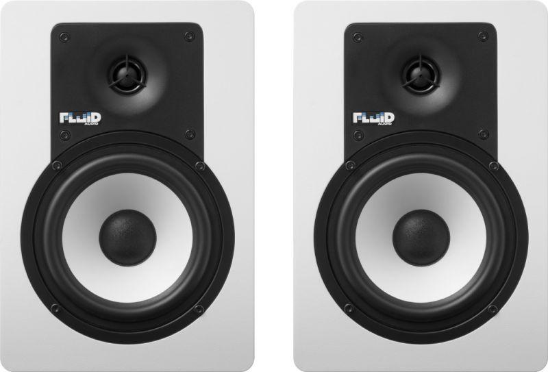 Fluid Audio フルイドオーディオ C5W ホワイト【ペア】【5インチ】【アクティブモニタースピーカー】【送料無料】