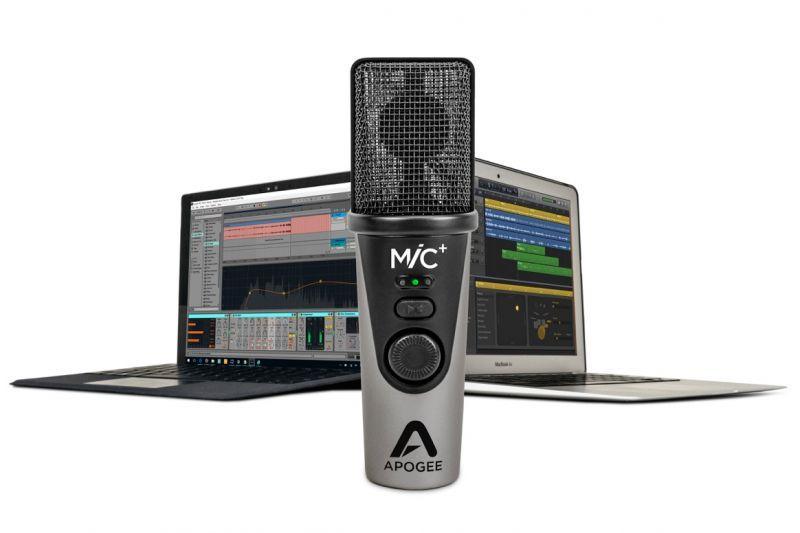 ApogeeMiC Plus USB Microphone【USBマイク】【アポジー】【カーディオ・コンデンサーマイク】【送料無料】