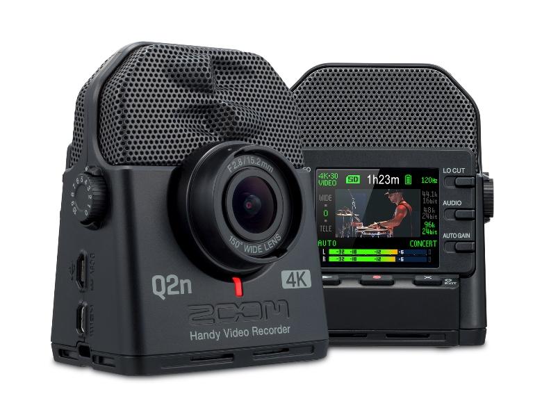 ZOOM (ズーム)Q2n-4K【Q2N-4K】Handy Video Recorder 【ハンディビデオ・レコーダー】【次回入荷分予約受付中】【送料無料】