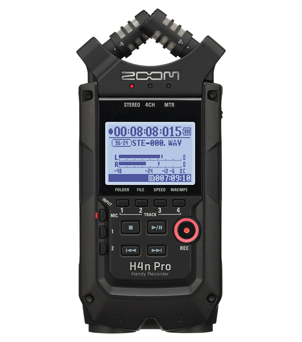 ZOOMH4nPro / BLK【H4N PRO】Handy Recorder【送料無料】