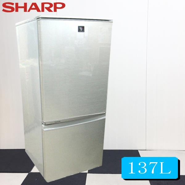 【中古冷蔵庫】2011年シャープノンフロン冷凍冷蔵庫137L SJ-PD14T-N【中古】【冷蔵庫 中古】【中古 冷蔵庫】【小型冷蔵庫】【2ドア冷蔵庫】【冷蔵庫 中古】【中古 冷蔵庫】【冷蔵庫一人暮らし】