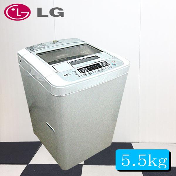 【洗濯機中古】2012年式LGジャパン全自動洗濯機5.5K WF-C55SW【中古】【洗濯機中古】【洗濯機  中古】【中古 洗濯機】【全自動洗濯機】【洗濯機一人暮らし】【洗濯機リサイクル】