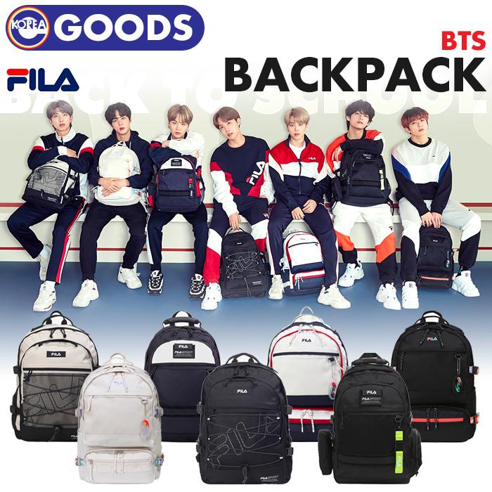 【 BTS × FILA / 新学期 リュック 】【数量限定10次予約】 防弾少年団 バンタン ばんたん フィラ バックパック Backpack 公式グッズ