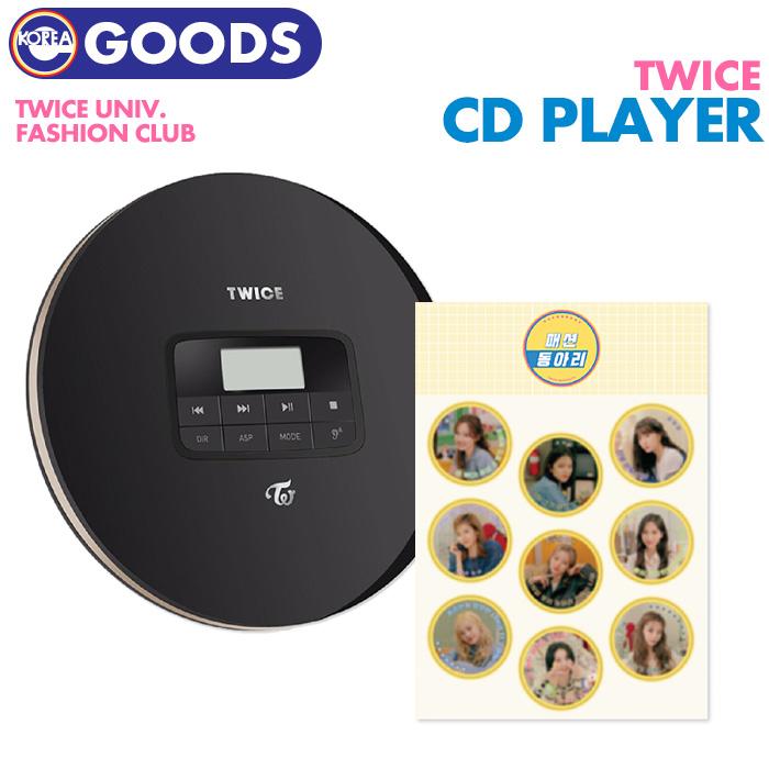 【 CD PLAYER + めんこ 】【 2020 TWICE UNIVERSITY 公式グッズ 】【即日発送】 トゥワイス プレーヤー