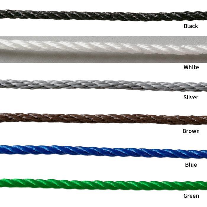 ekrea Parts エクレアパーツの転落防止ネットを取り付ける 張用ロープとなります 転落防止ネットとセットでご購入ください 転落防止ネット 張用ロープ グリーン ブルー ブラック ブラウン シルバー 格安 価格でご提供いたします ホワイト 10m巻 5☆好評