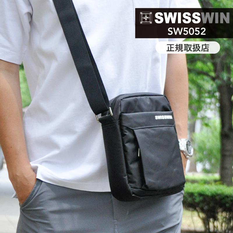 摩擦に強い素材で 耐久性に優れたショルダーバッグ 使えるクーポン配布中 SWISSWIN 送料無料 スイスウィン ショルダーバッグ メンズ 斜めがけ 軽量 絶品 ショルダー ビジネスバッグ 斜めがけバッグ 再再販 出張 通勤 バッグ 防水 おしゃれ swisswin レディース メッセンジャーバッグ 鞄 メンズバッグ