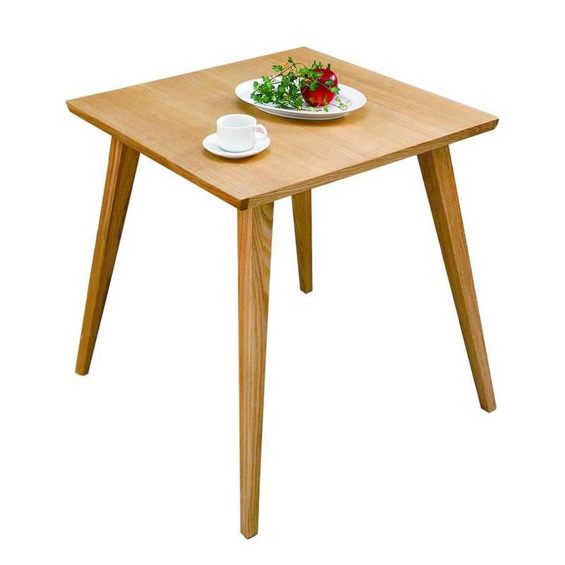 CL-786TNA バンビ テーブル ダイニングテーブル 正方形 木製 2人掛けサイズ ナチュラル 【メーカー直送・代金引換不可】