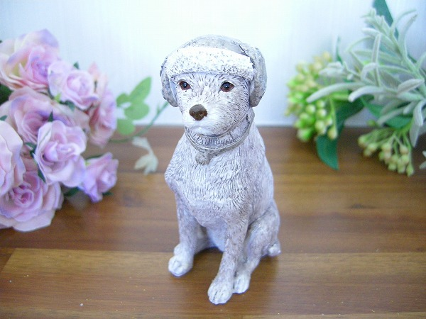 記念日 スウィーティードッグ~テリア 小さな犬 置物 新色追加