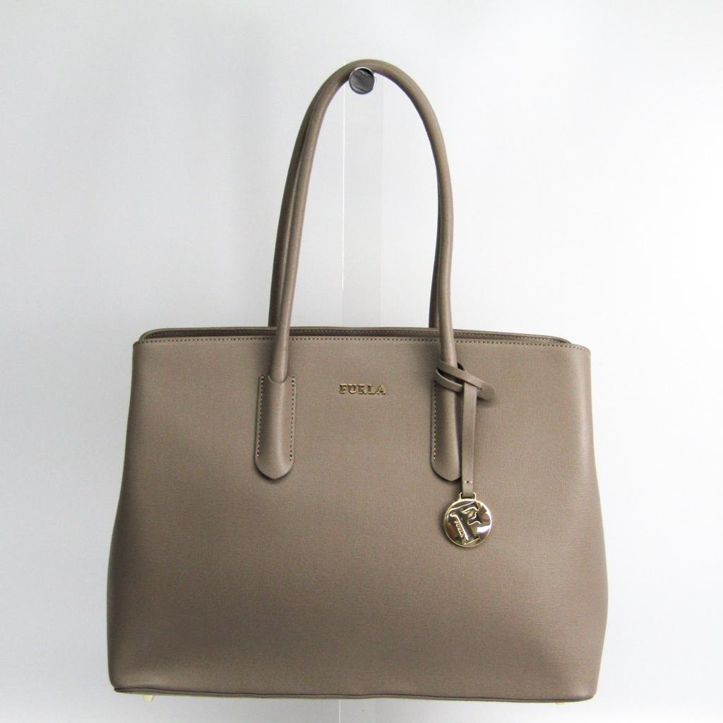 b616aed20 Full lah (Furla) TESSA L 937611 Lady's leather tote bag graige ...