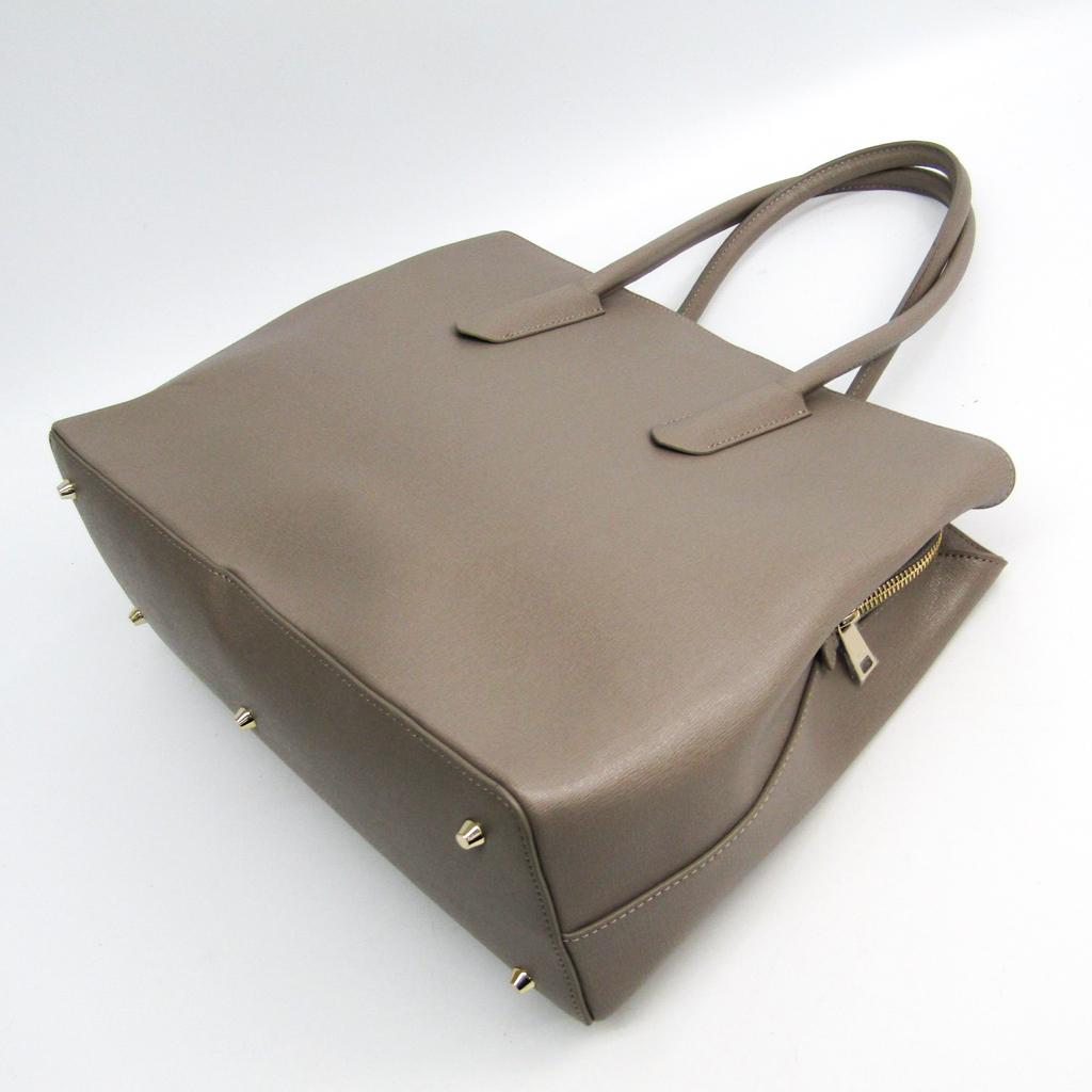 320e70a4f ... Full lah (Furla) TESSA L 937611 Lady's leather tote bag graige ...