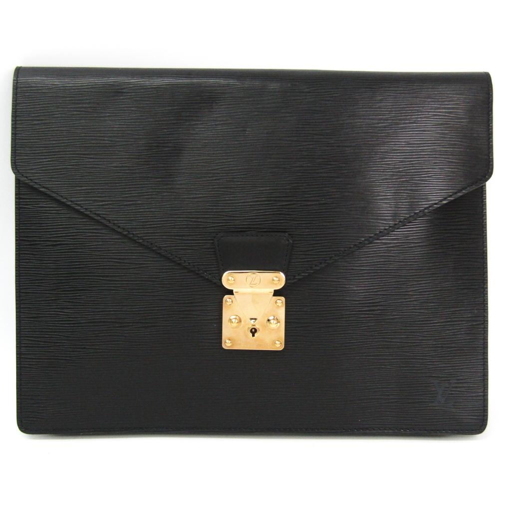 ルイヴィトン(Louis Vuitton) エピ ポルト・ドキュマン・セナトゥール M54452 ブリーフケース ノワール 【中古】