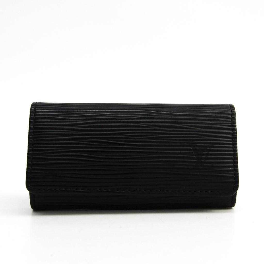 ルイヴィトン(Louis Vuitton) エピ レディース エピレザー キーケース ノワール ミュルティクレ4 M63822 【中古】