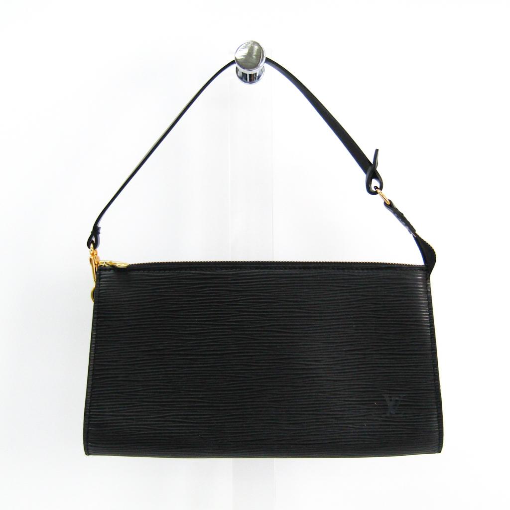 ルイヴィトン(Louis Vuitton) エピ ポシェット・アクセソワール24 M52942 ハンドバッグ ノワール 【中古】