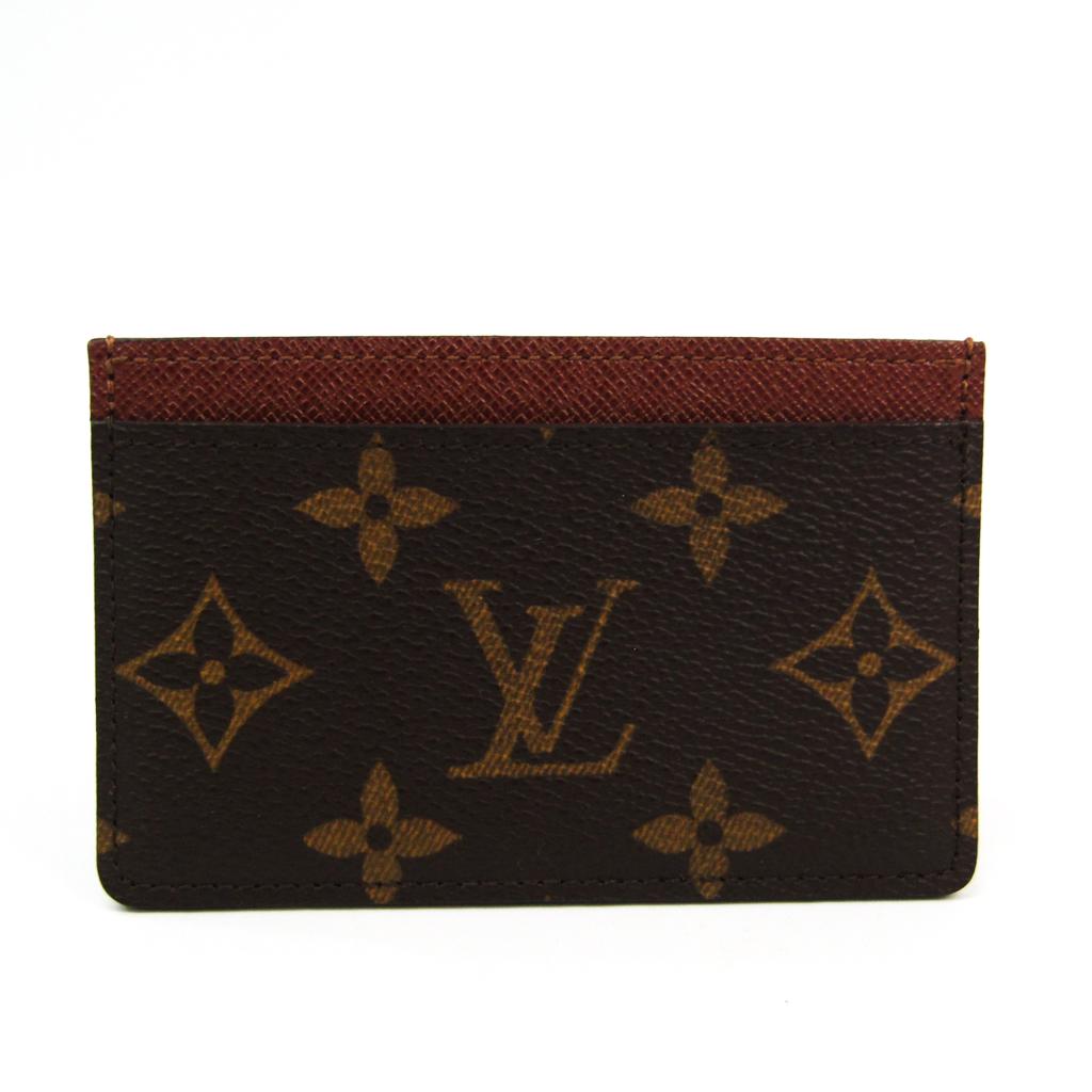 ルイヴィトン(Louis Vuitton) モノグラム モノグラム カードケース モノグラム ポルト カルト・サーンプル M61733 【中古】
