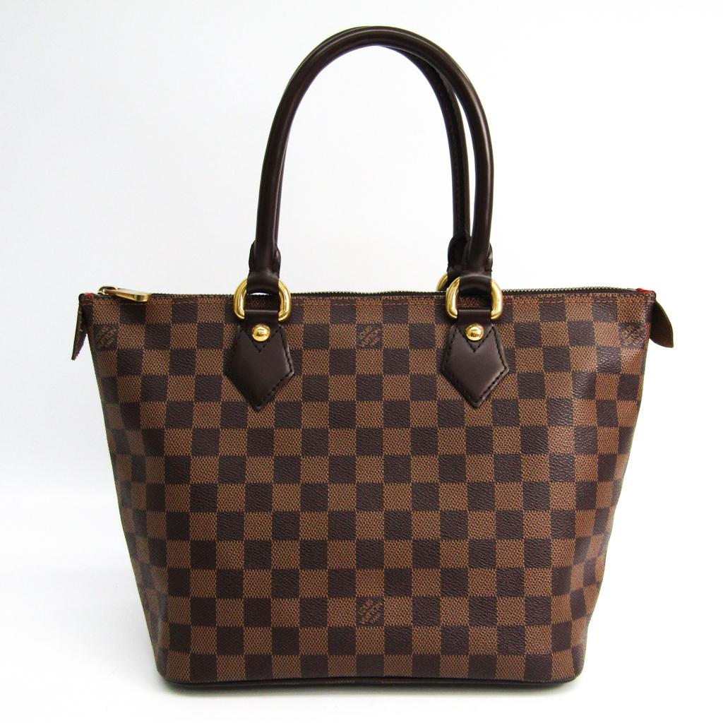 ルイヴィトン(Louis Vuitton) ダミエ サレヤPM N51183 ハンドバッグ エベヌ 【中古】