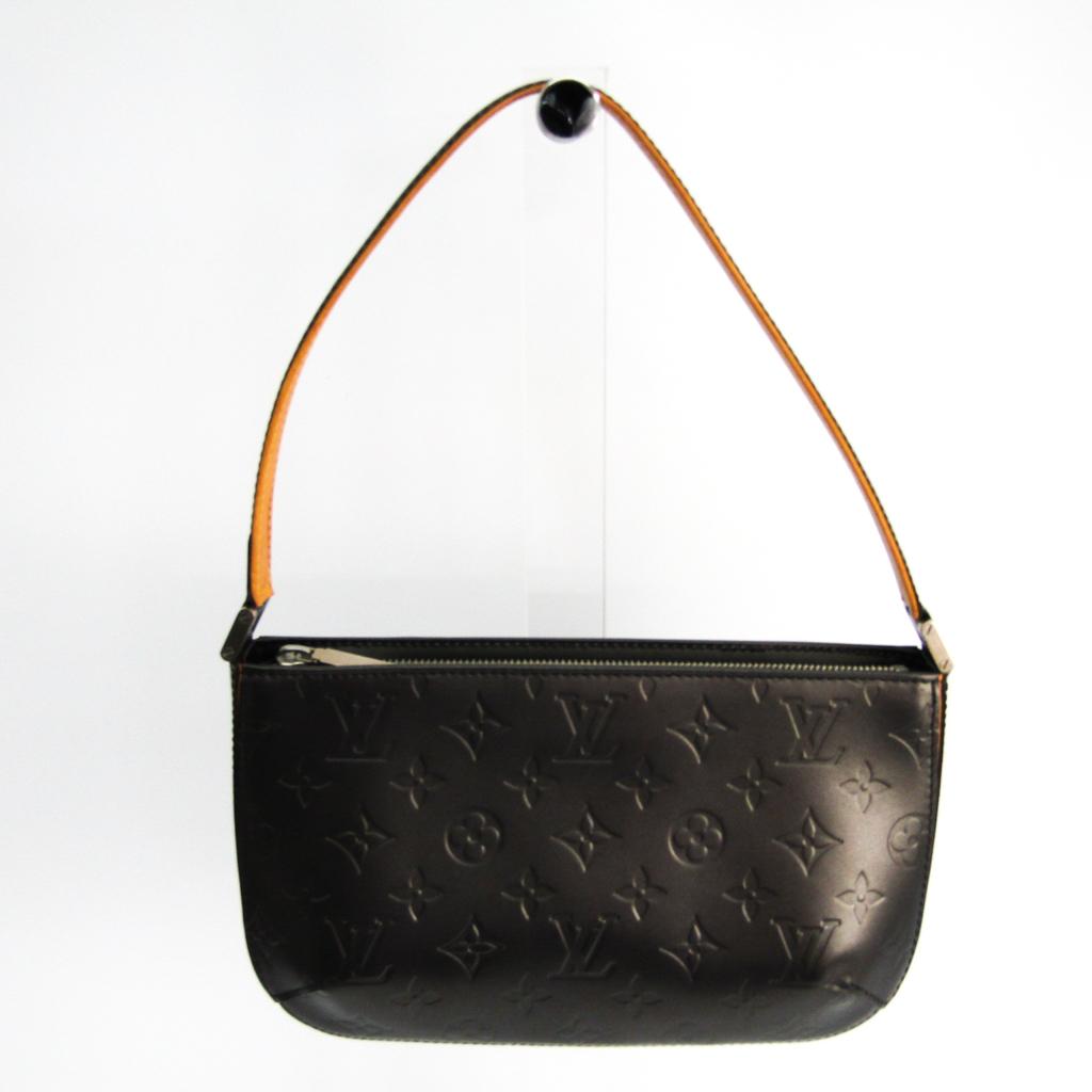 ルイヴィトン(Louis Vuitton) モノグラムマット ファウラー M55142 ハンドバッグ ノワール 【中古】