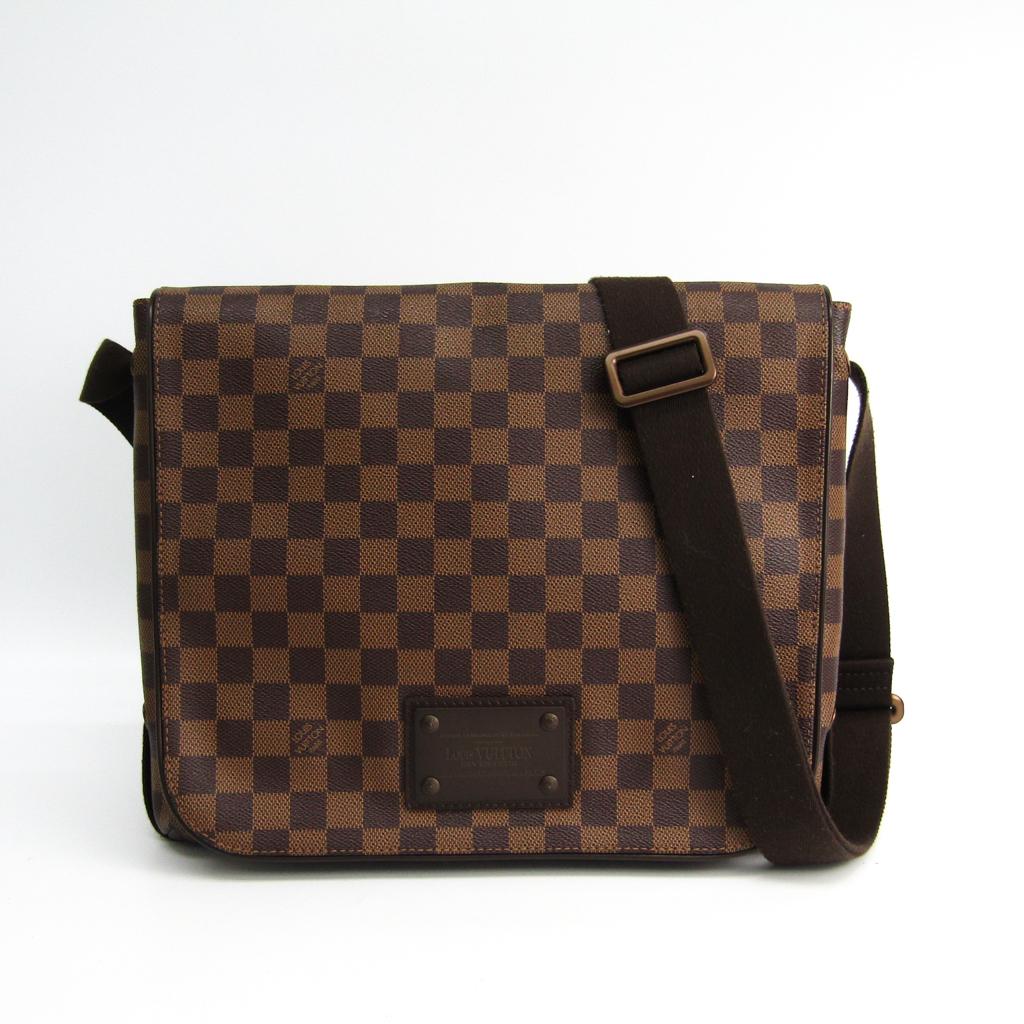 ルイヴィトン(Louis Vuitton) ダミエ ブルックリンMM N51211 ショルダーバッグ エベヌ 【中古】