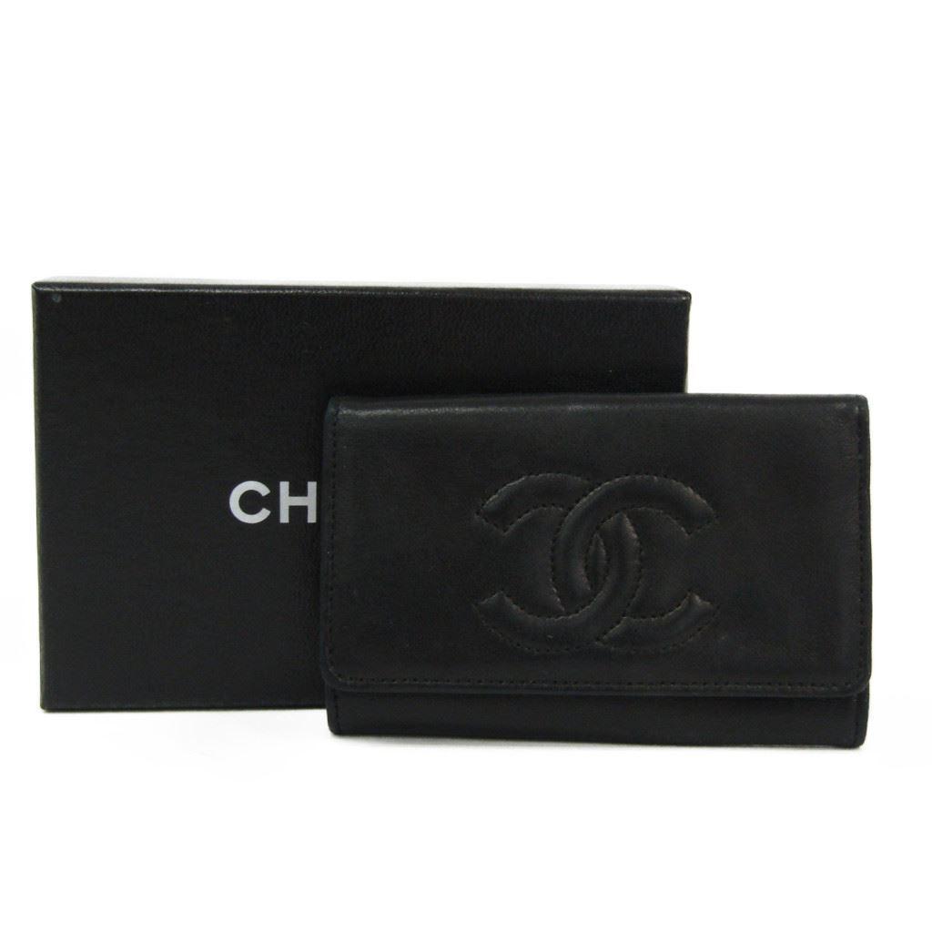 a1dbe9b437e8 シャネル(Chanel) ココ レディース キーケース ブラック 【中古】 レザー ...
