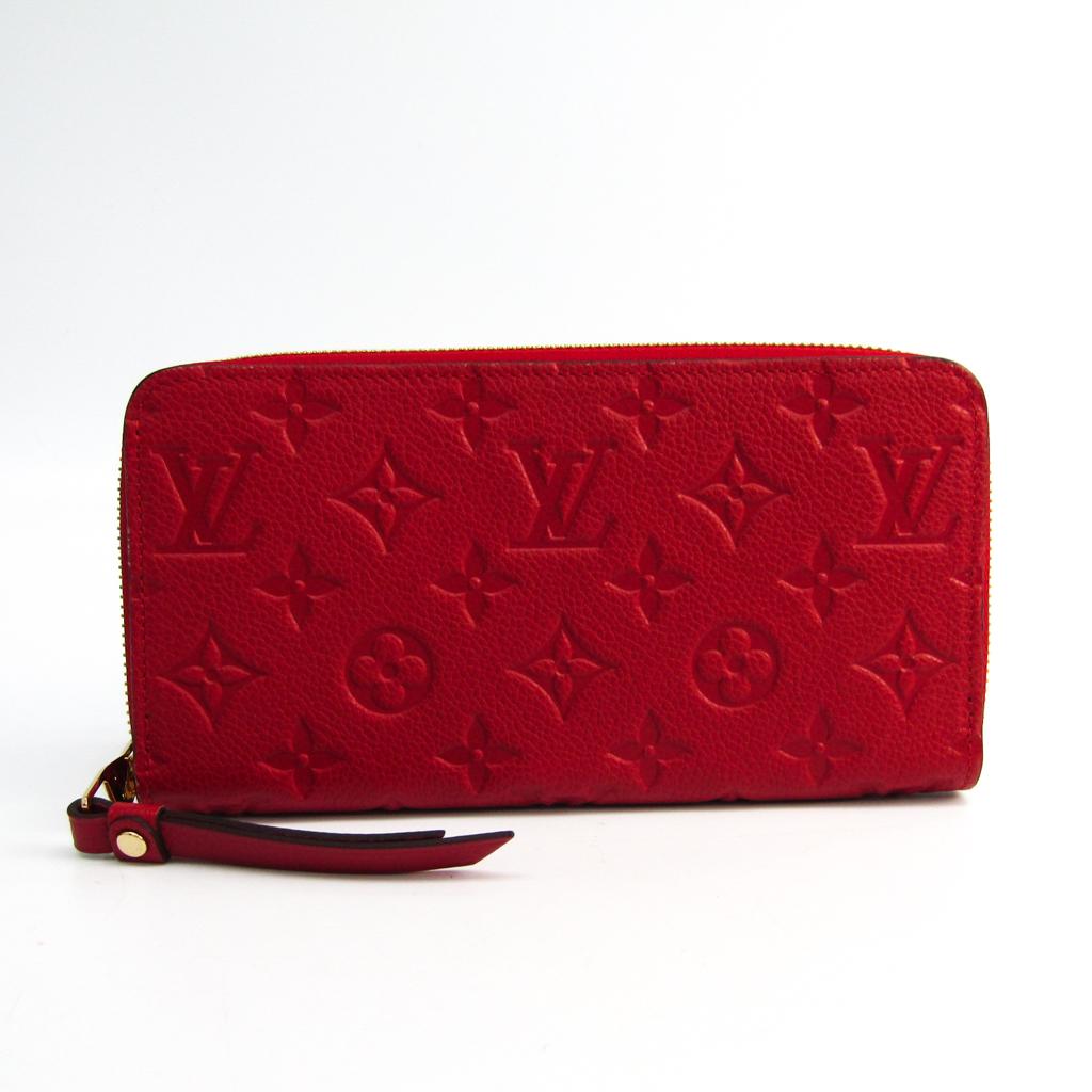 ルイヴィトン(Louis Vuitton) モノグラムアンプラント ジッピー・ウォレット M61865 レディース モノグラムアンプラント 長財布(二つ折り) スリーズ 【中古】
