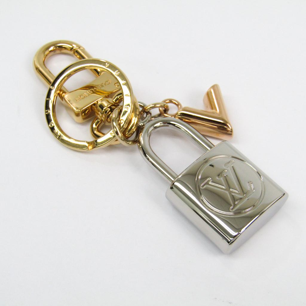ルイヴィトン(Louis Vuitton) キーホルダー (ゴールド,ピンクゴールド(PG),シルバー) バッグ チャーム・カレイド V パドロック M67376 【中古】