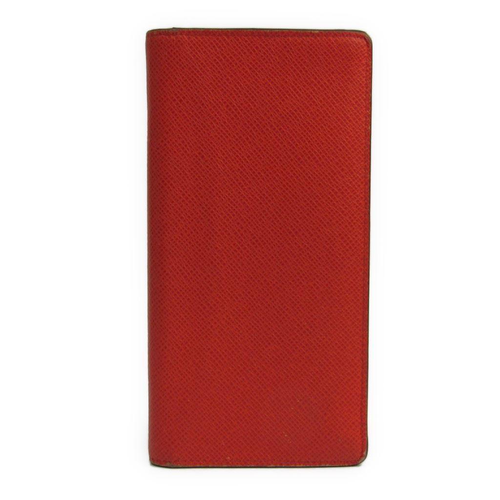 【中古】 ルイヴィトン(Louis Vuitton) タイガ ポルトフォイユ・ブラザ M32839 メンズ タイガ 長財布(二つ折り) オレンジ