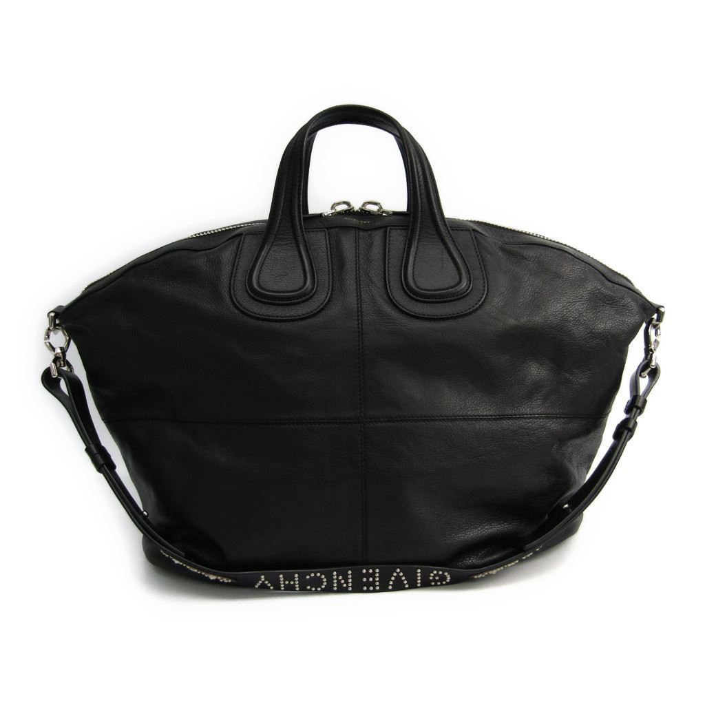 137426254f2f ジバンシィ (Givenchy) nightingale BJ05025679 Lady s leather shoulder bag black
