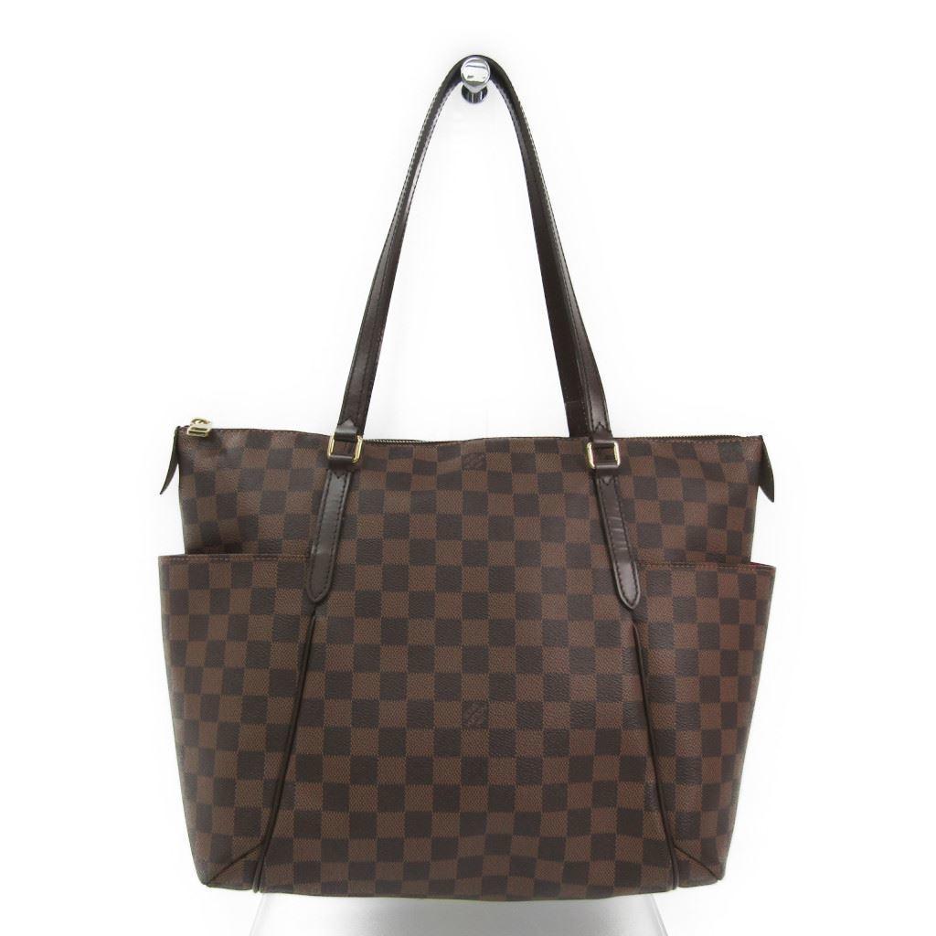 ルイ・ヴィトン(Louis Vuitton) ダミエ トータリーMM N41281 レディース トートバッグ エベヌ 【中古】