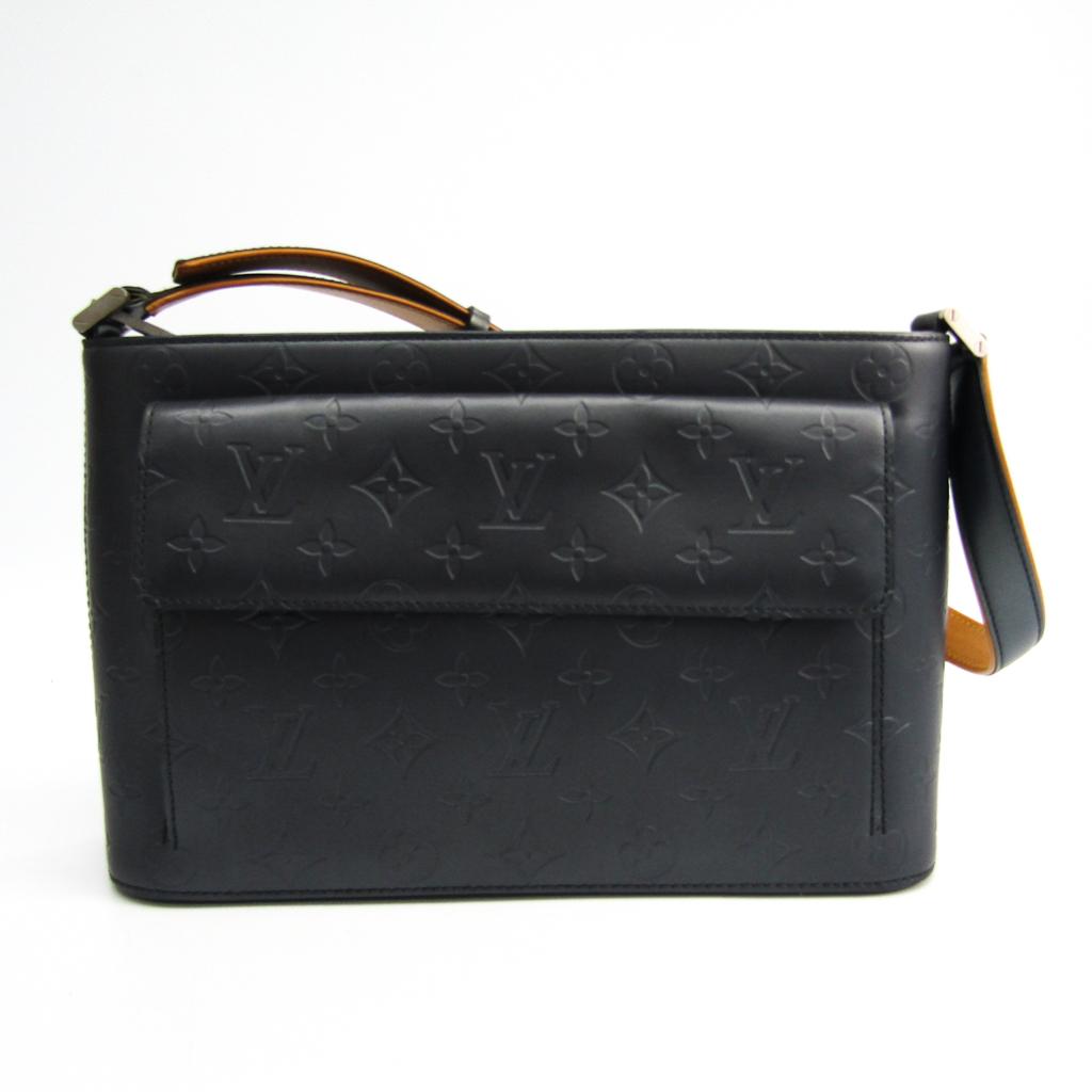 ルイ・ヴィトン(Louis Vuitton) モノグラムマット アルストン M55125 レディース ハンドバッグ ブルー 【中古】