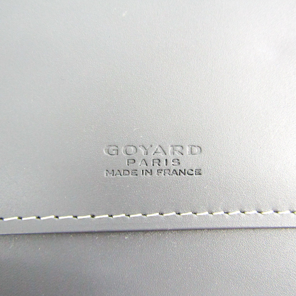 901b636a3f66 ゴヤール(Goyard) オペラ オーガナイザー ユニセックス キャンバス,レザー 長財布(二つ折り) グレー 【中古】