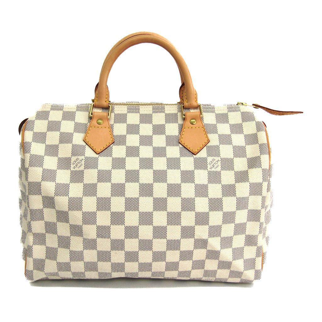 ルイヴィトン(Louis Vuitton) ダミエ スピーディ30 N41533 レディース ハンドバッグ アズール 【中古】