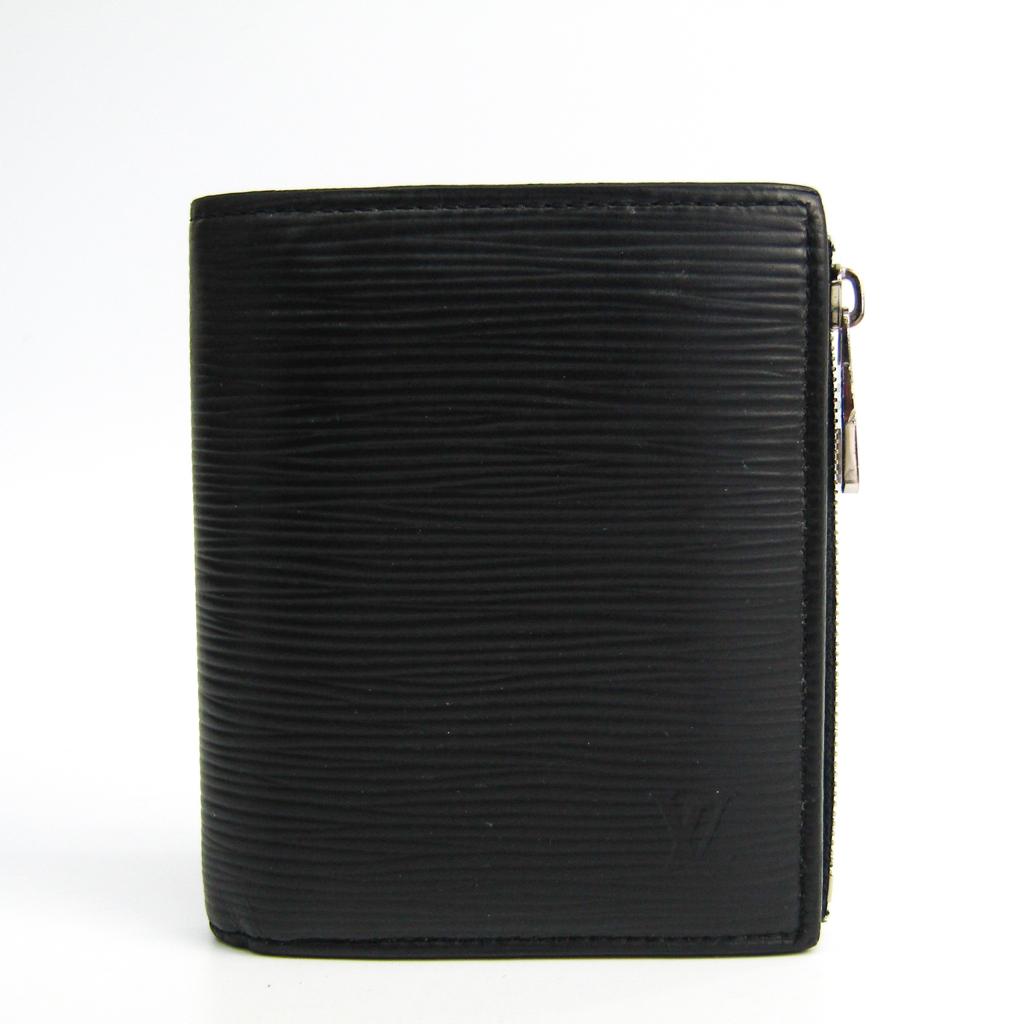 ルイ・ヴィトン(Louis Vuitton) エピ ポルトフォイユ・スマート M64007 メンズ エピレザー 財布(二つ折り) ノワール 【中古】