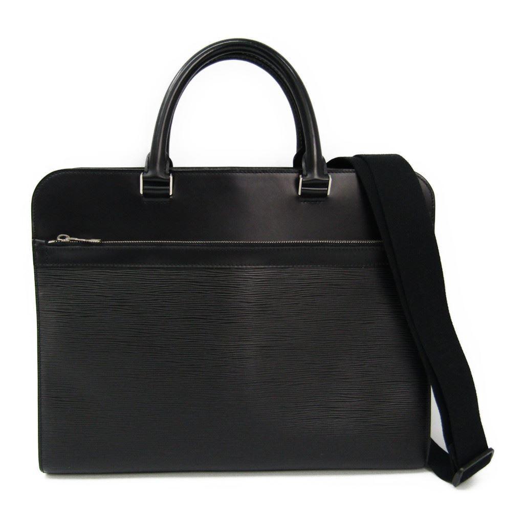 ルイヴィトン(Louis Vuitton) エピ バサーノMM M54032 メンズ ブリーフケース ノワール 【中古】