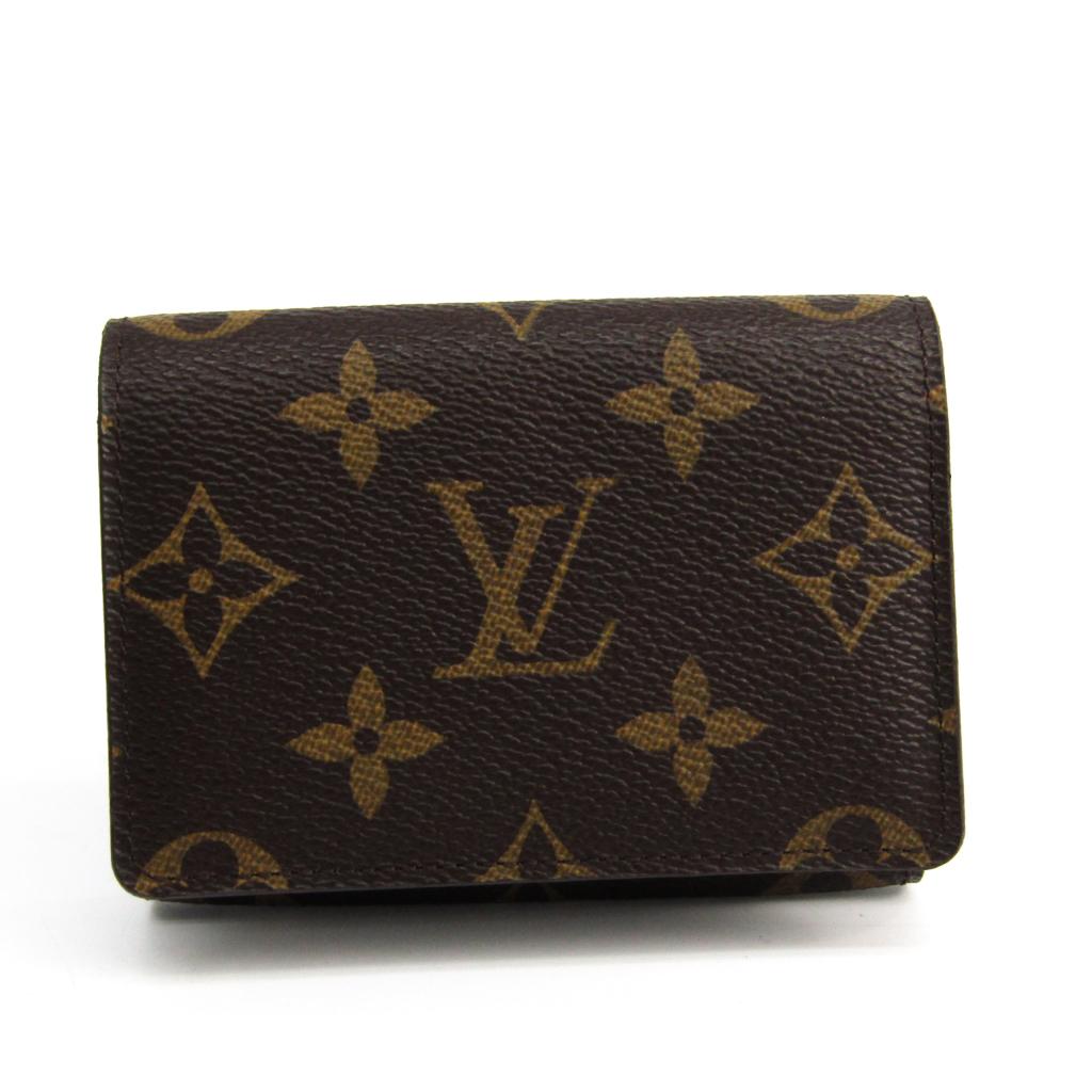 ルイヴィトン(Louis Vuitton) モノグラム アンヴェロップカルトドゥヴィジット モノグラム 名刺入れ モノグラム M62920 【中古】