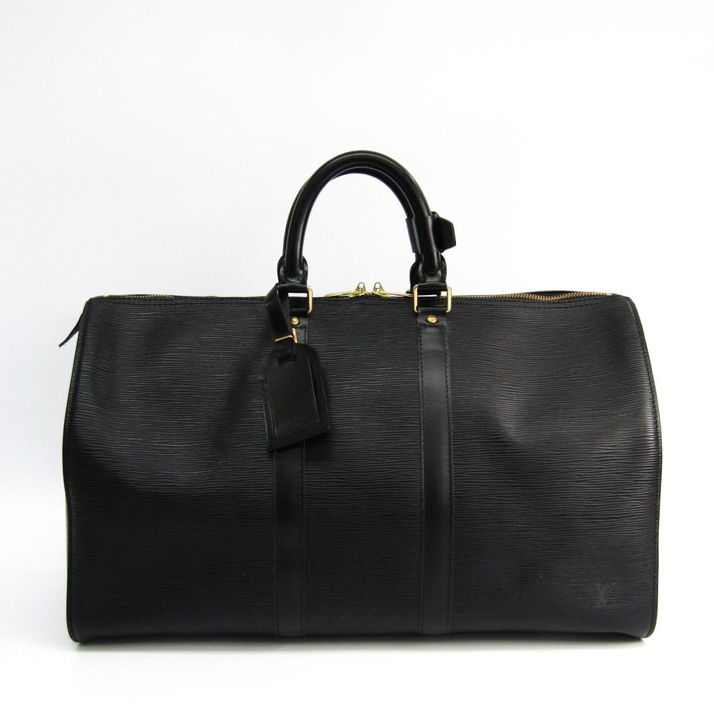 ルイヴィトン(Louis Vuitton) エピ キーポル45 M42972 ボストンバッグ ブラック 【中古】