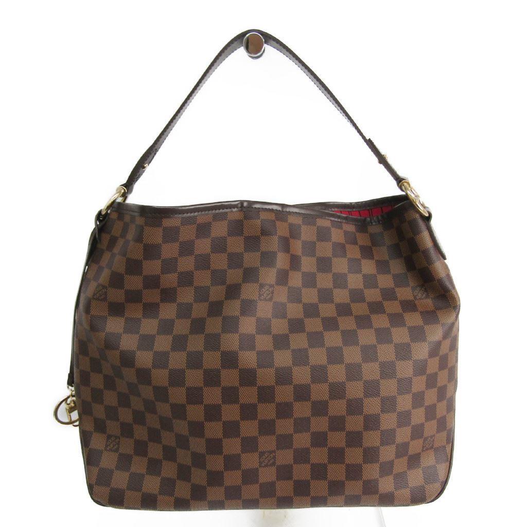 ルイヴィトン(Louis Vuitton) ダミエ ディライトフルMM N41460 ショルダーバッグ エベヌ 【中古】