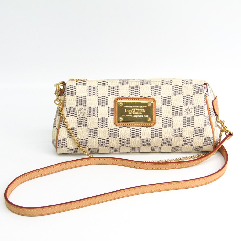 ルイ・ヴィトン(Louis Vuitton) ダミエ エヴァ N55214 ショルダーバッグ アズール 【中古】