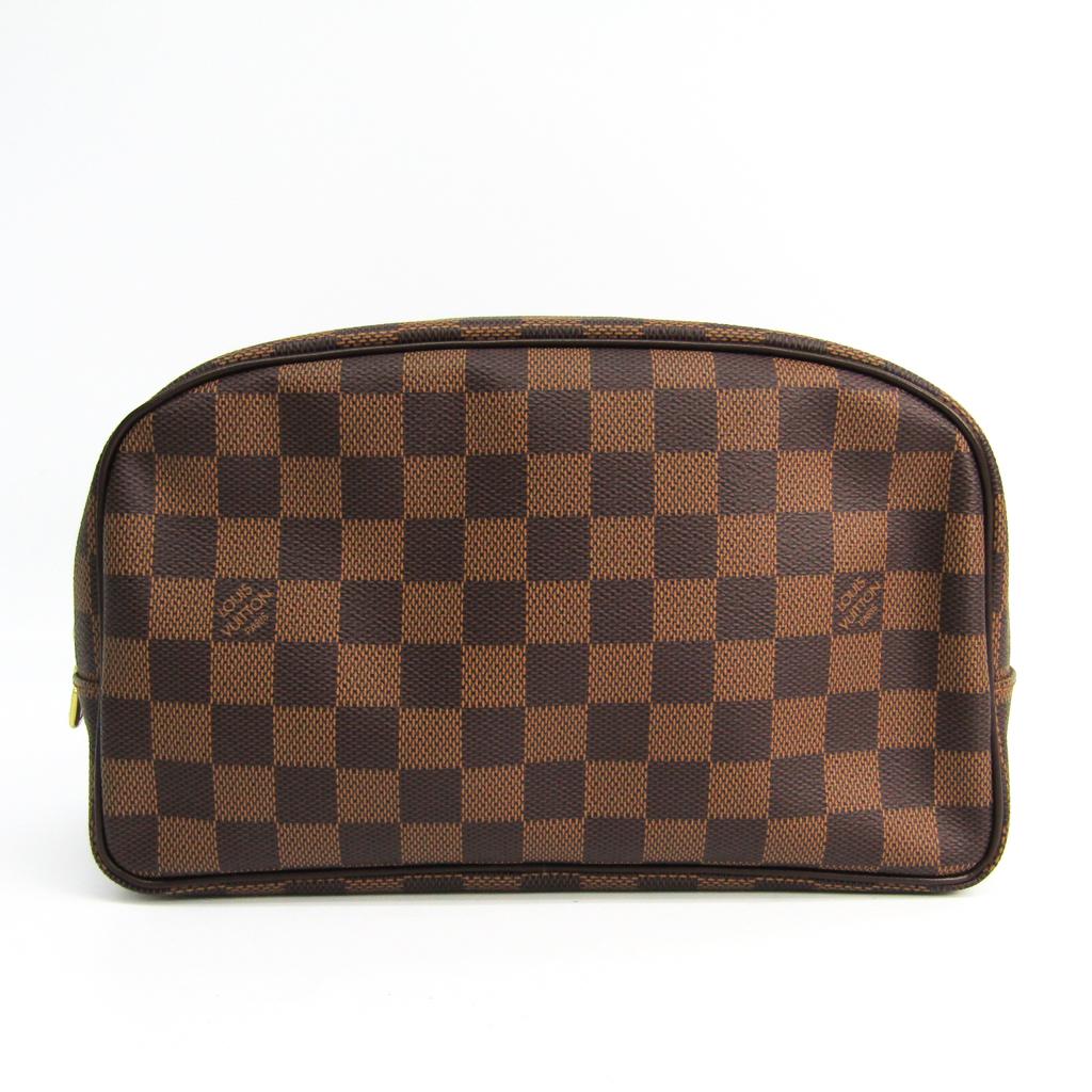 ルイヴィトン(Louis Vuitton) ダミエ トゥルース・トワレット25 N47624 ポーチ エベヌ 【中古】