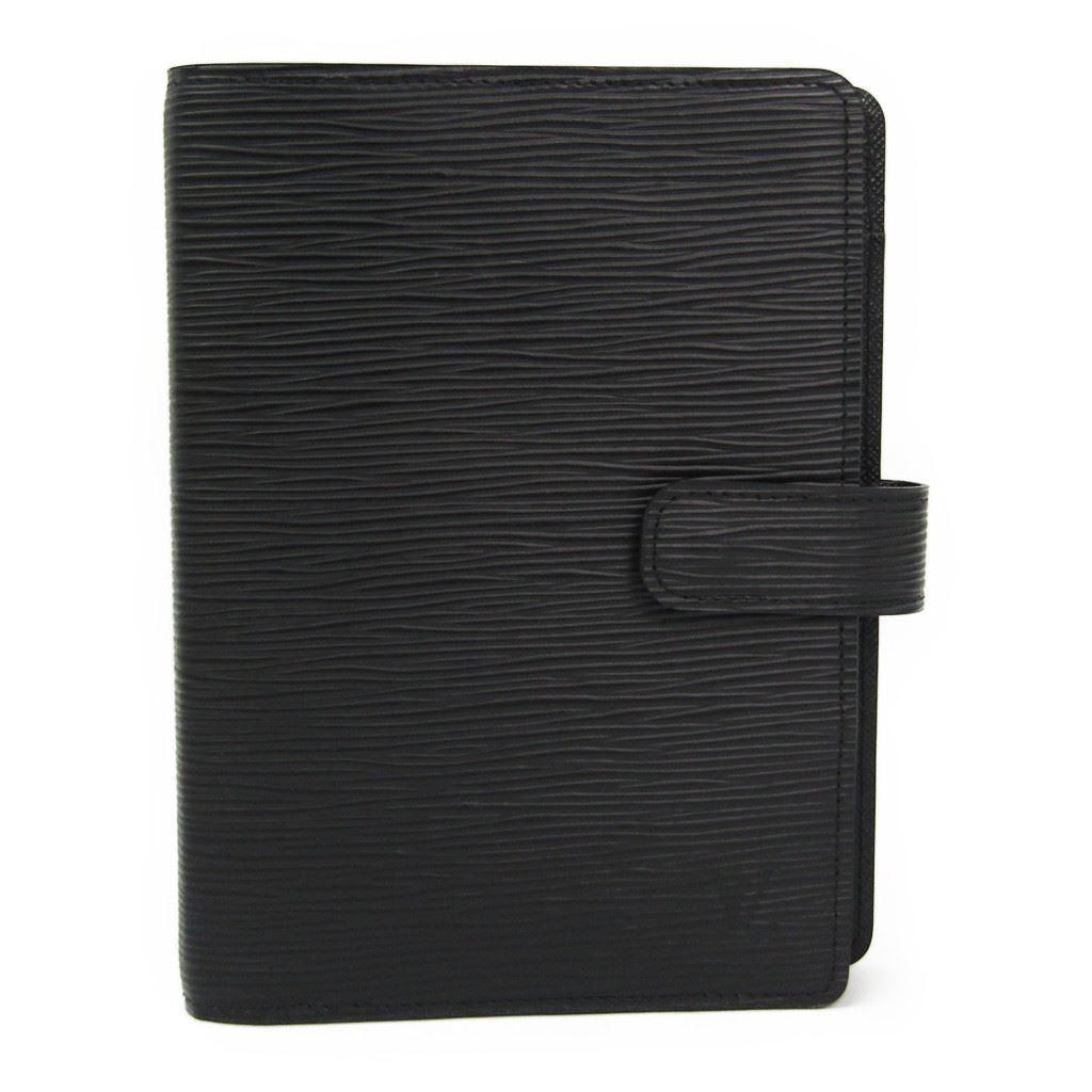 ルイヴィトン(Louis Vuitton) エピ 手帳 ノワール アジェンダMM R20202 【中古】