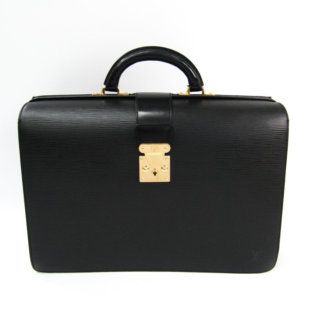 ルイヴィトン(Louis Vuitton) エピ セルヴィエットフェルモアール M54352 メンズ ブリーフケース ノワール 【中古】