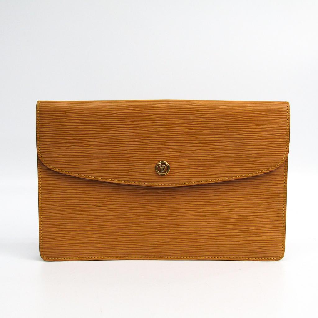 ルイヴィトン(Louis Vuitton) エピ モンテーニュ27 M52656 レディース クラッチバッグ ウィニペグベージュ【中古】