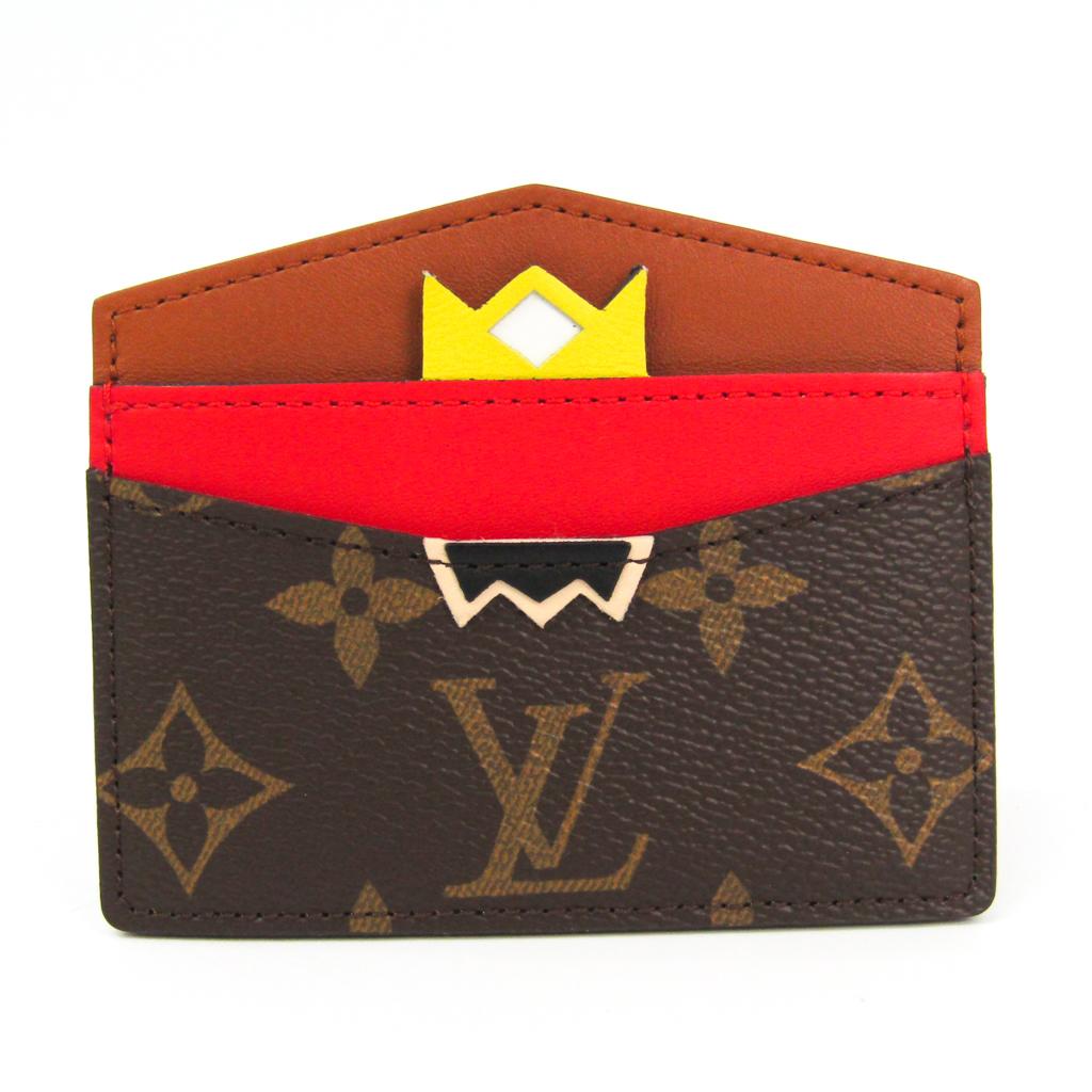 ルイヴィトン(Louis Vuitton) モノグラム モノグラム カードケース モノグラム,レッド,イエロー ポルトカルト・サーンプル M60786 【中古】